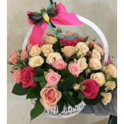 Букет «Розовый сад»
